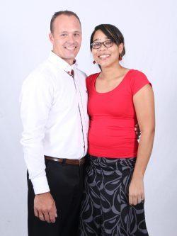 Pastor Arjan en Rachel Draaijer